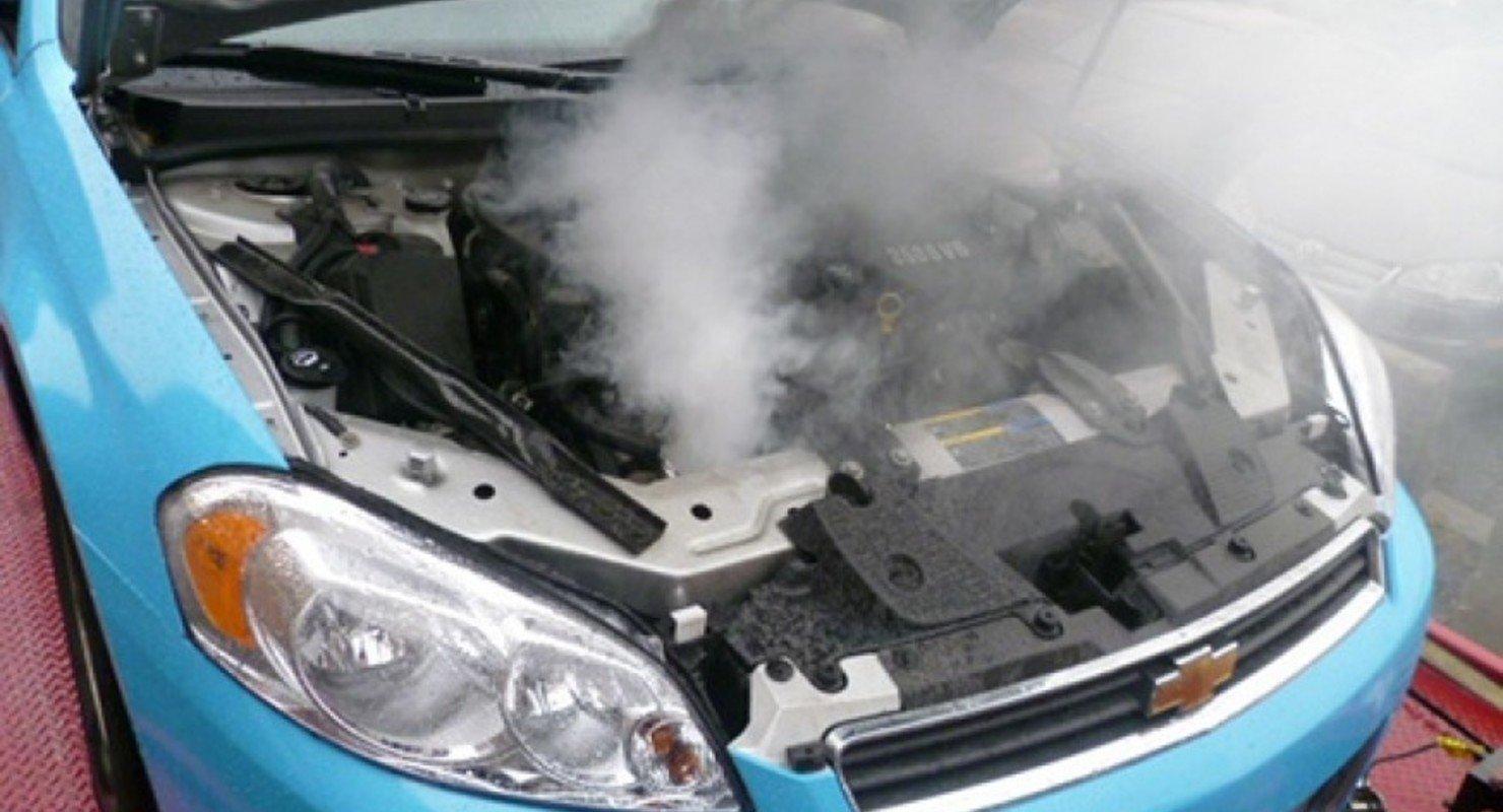 Як діяти при перегріві двигуна в автомобілі