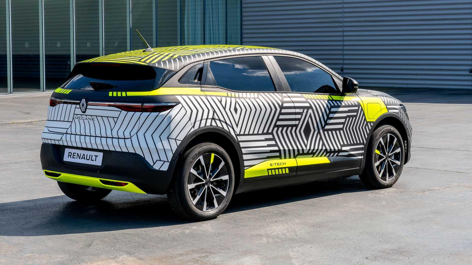 Електричний Renault Megane отримає запас ходу в 450 км