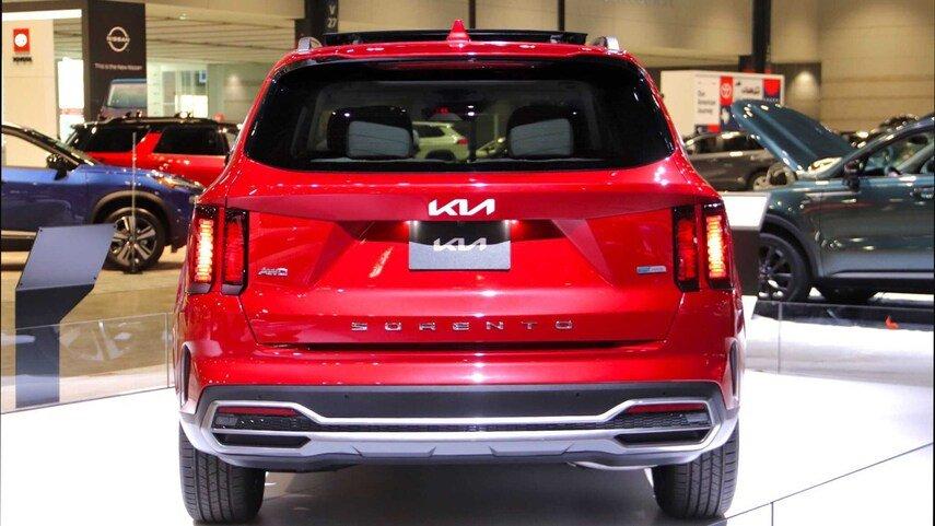Kia представила оновлений Kia Sorento