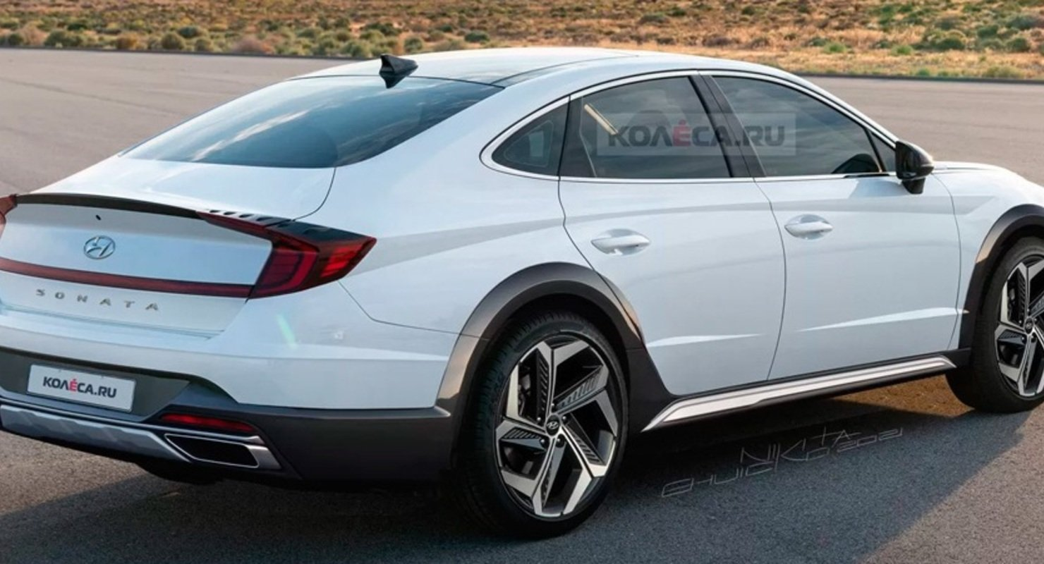 В Сети показали кросс-седан Hyundai Sonata
