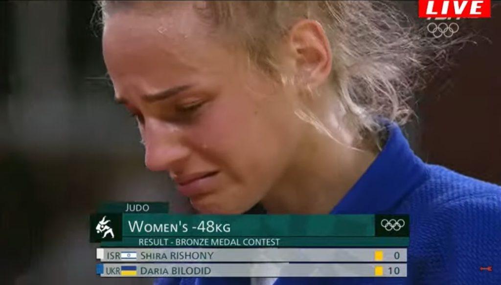 Красуня Білодід розридалася прямо на татамі: подробиці олімпійської драми