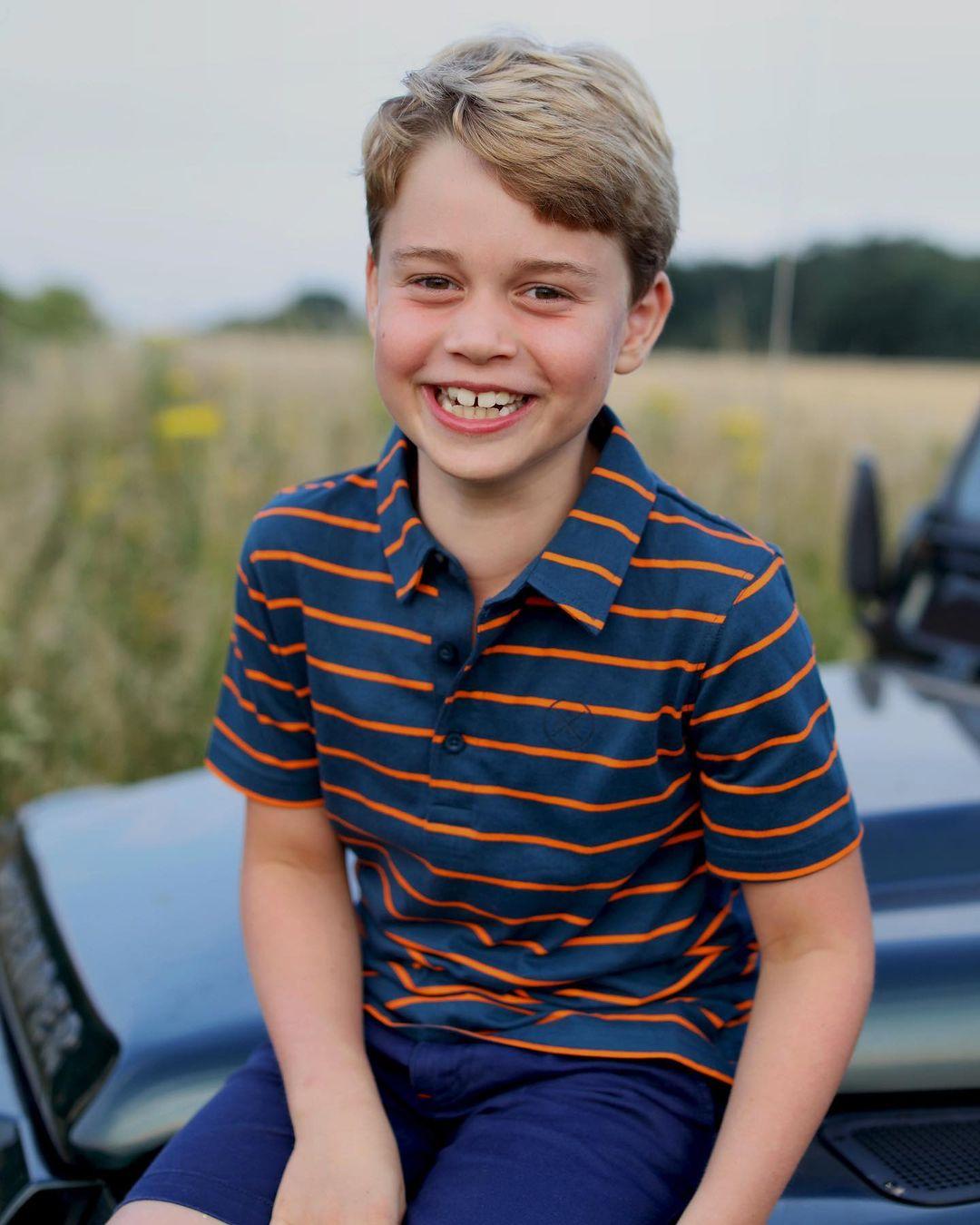 Кейт Міддлтон і принц Вільям показали нове фото на честь 8-го дня народження старшого сина
