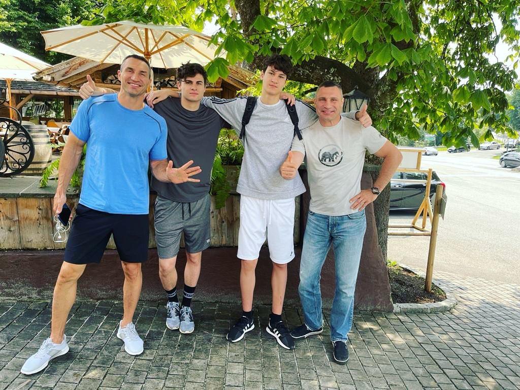 Віталій Кличко показав, з ким відсвяткував свій ювілей