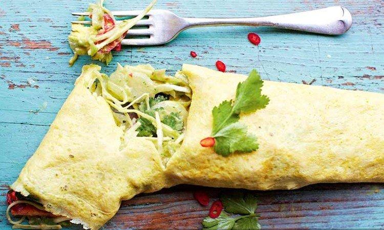 Омлет по-мексикански: рецепт вкусного и пикантного завтрака из полезных ингредиентов