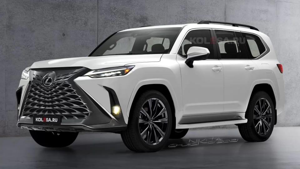 Lexus LX нового покоління буде ще потужнішим