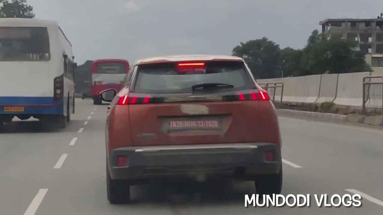 Шпигуни показали оновлений Peugeot 2008