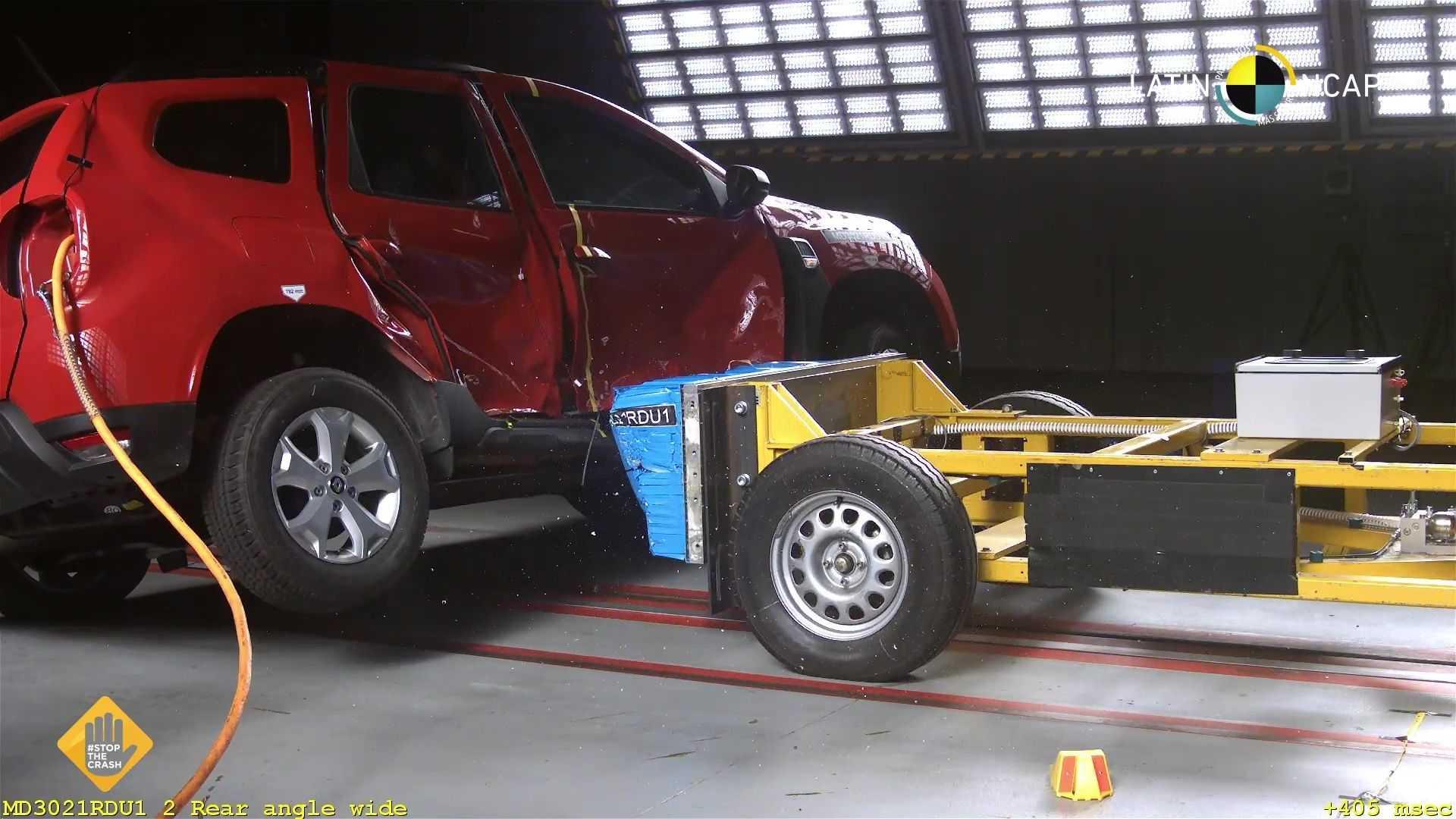 Бразильський Renault Duster отримав в краш-тестах 0 зірок