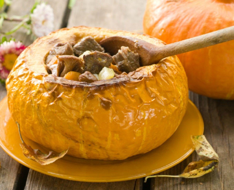 Как вкусно приготовить тыкву с грибами: рецепт лучшего осеннего ужина