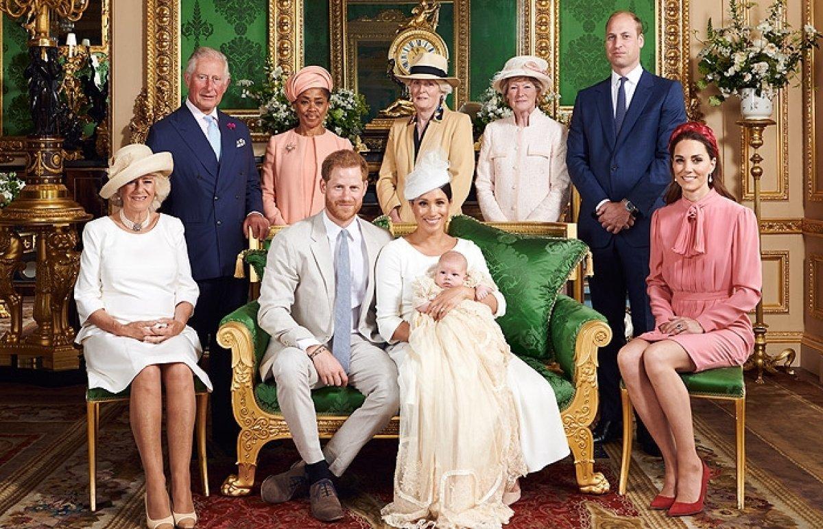 Принц Гаррі і Меган Маркл таємно хрестили дочку