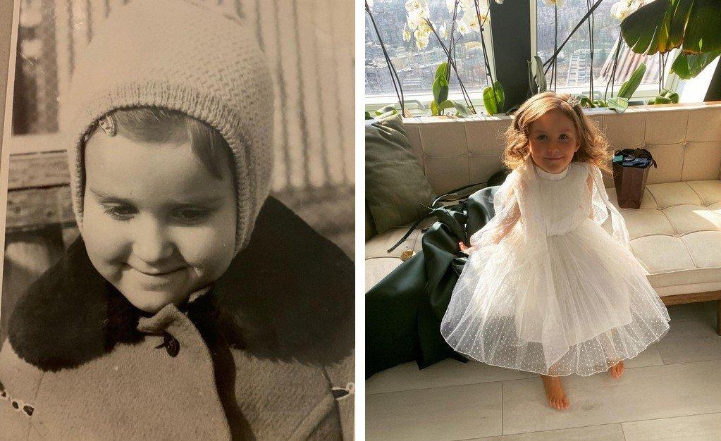 Тоня Матвієнко показала свою підрослу дочку Ніну з новою зачіскою