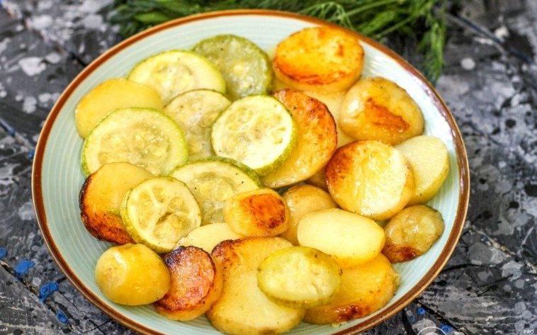 Запеканка из кабачков и картофеля в духовке: рецепт вкусного блюда на обед или ужин