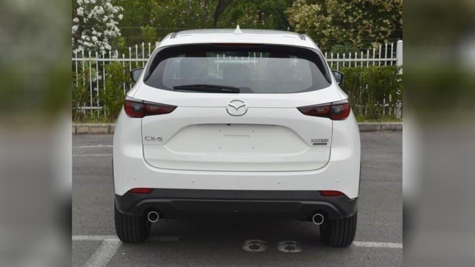 Обновленную Mazda CX-5 рассекретили раньше времени