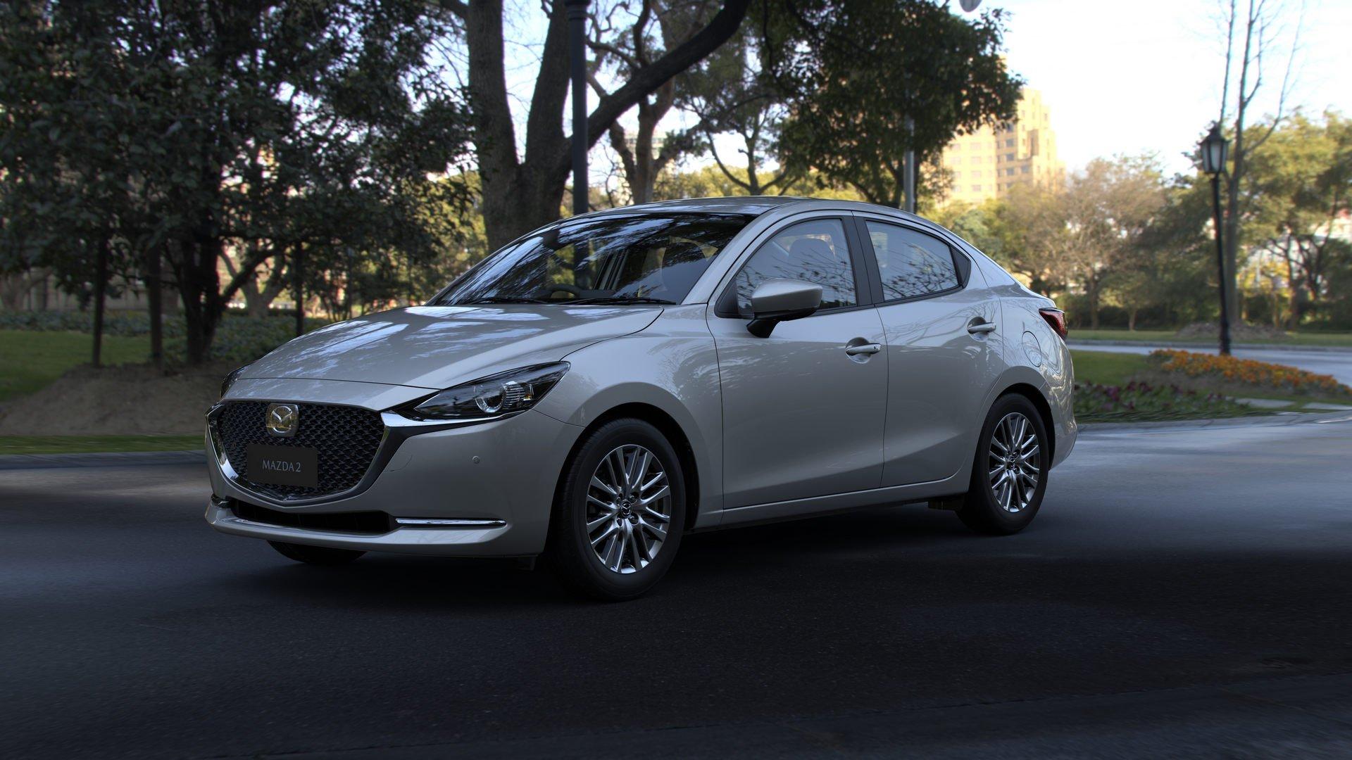 Mazda показала оновлену Mazda2