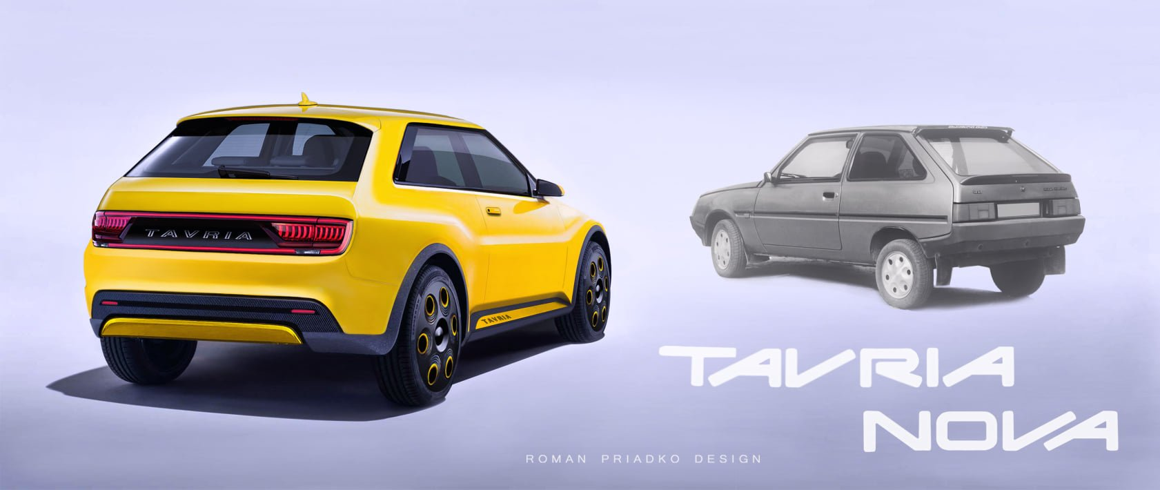У Мережі показали новий електромобіль ЗАЗ Tavria