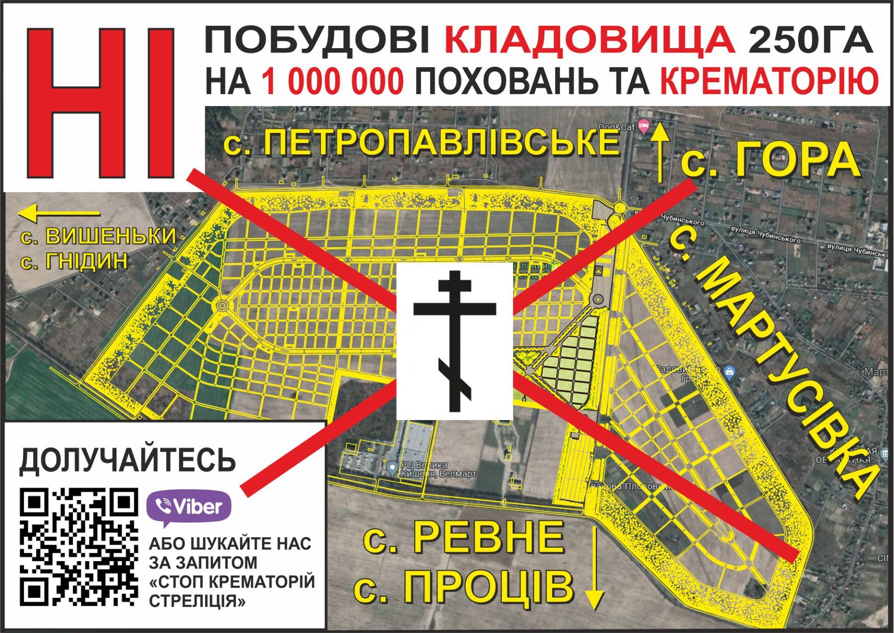 Стало відомо, хто стоїть за будівництвом скандального цвинтаря на мільйон поховань і крематорія на Київщині