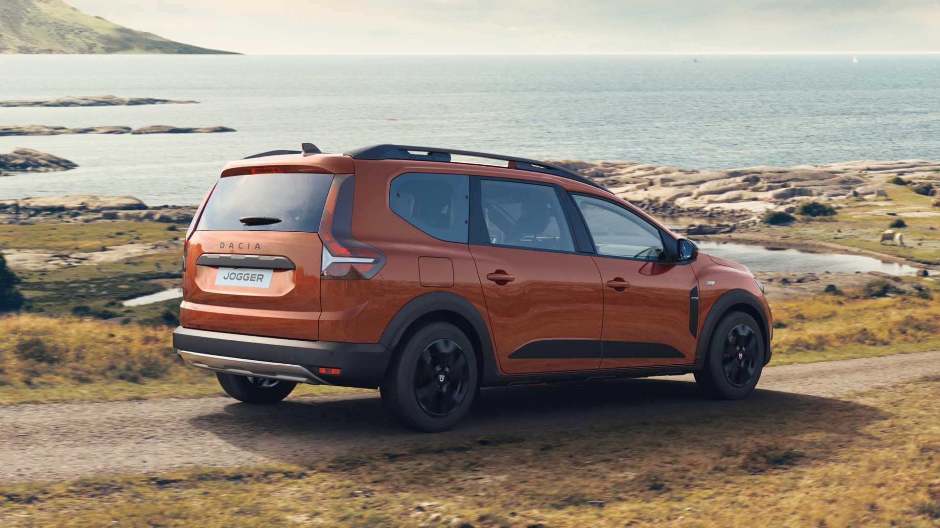 Dacia представила кросовер Jogger на базі Sandero