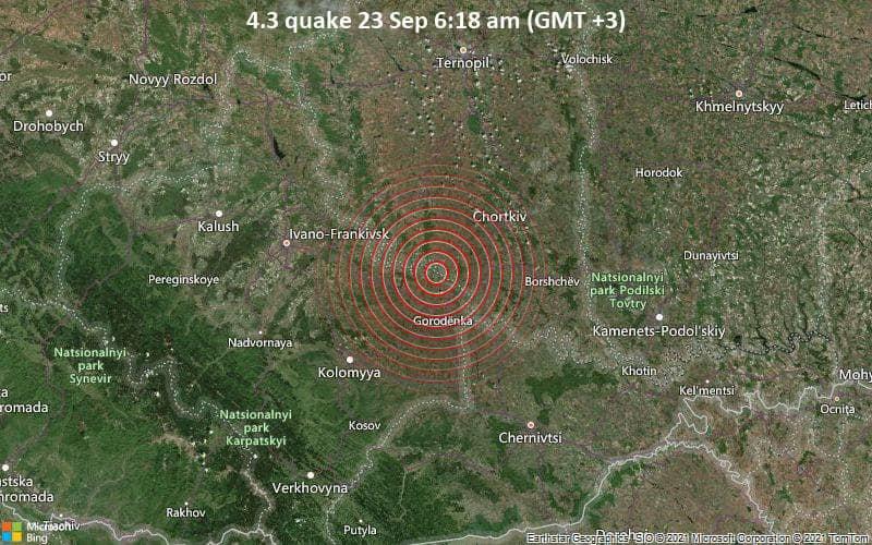 Землетрус в Україні накрив п'ять областей: хто опинився під загрозою