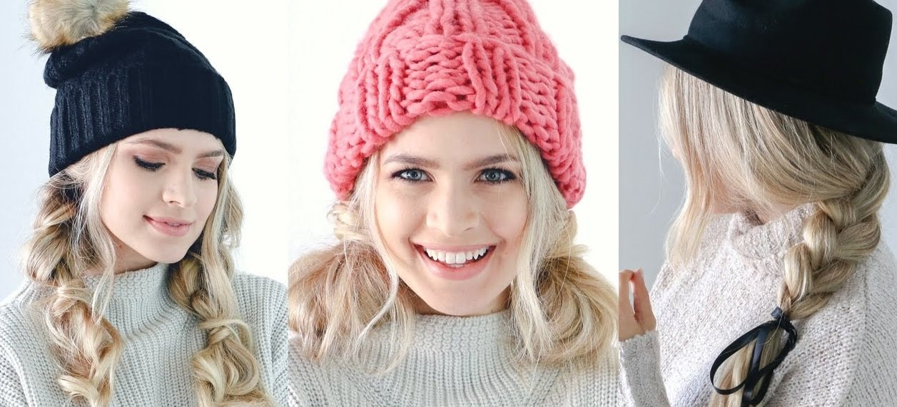 Три найкращі зачіски під шапку: як зробити красиве укладання самостійно