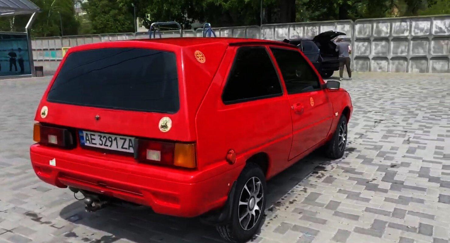 В Україні побудували електромобіль Kozak на базі ЗАЗ Таврія