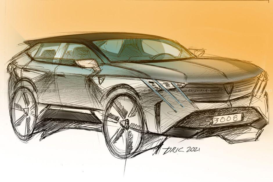 В 2023 году появится Peugeot 3008 нового поколения